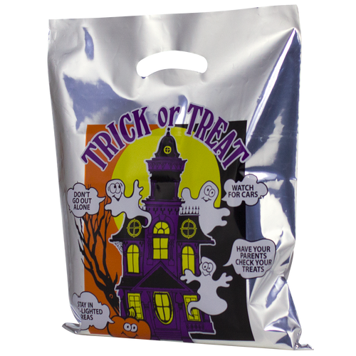 Haunted House Bag (Silver)