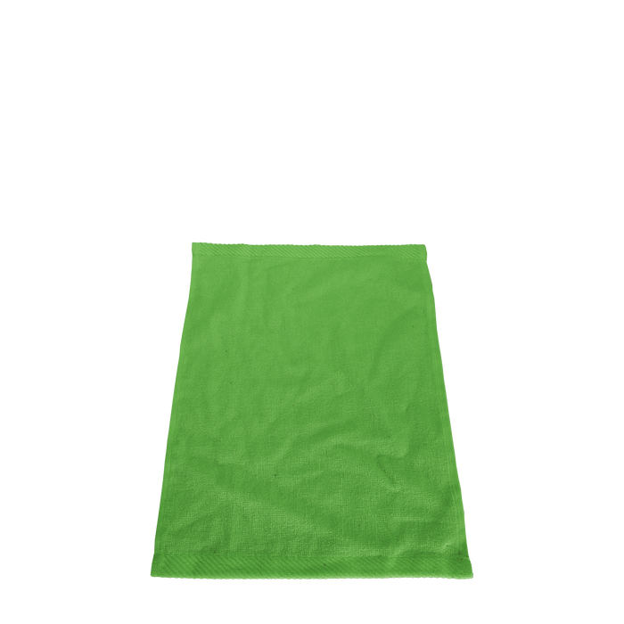 Lime Green Balance Color Fitness Towel
