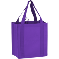 Purple Little Storm Grocery Bag Thumb