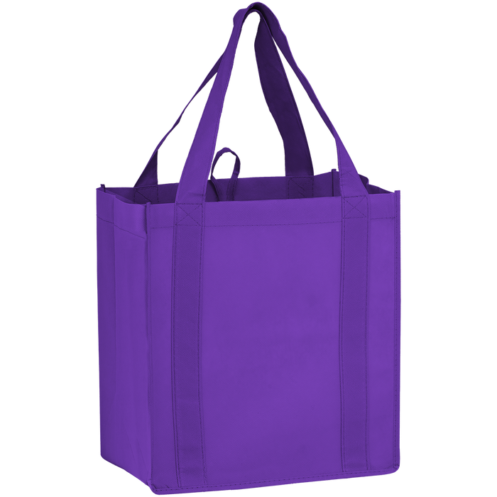 Purple Little Storm Grocery Bag