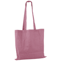 Pink Basic Cotton Tote Thumb