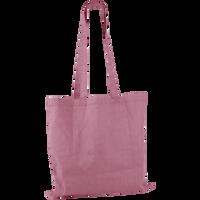 Pink Basic Cotton Tote Thumb