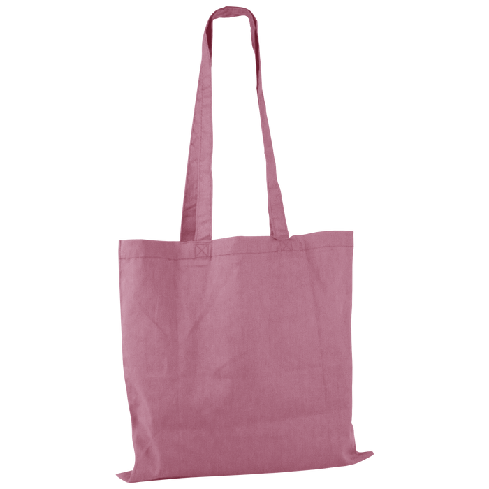 Pink Basic Cotton Tote