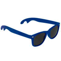 Royal Blue Panama Bottle Opener Sunglasses Thumb