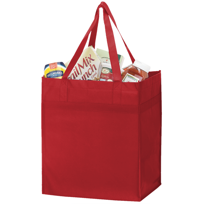 Red Big Tex Grocery Bag