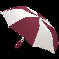 Burgundy/White Classic Umbrella Thumb