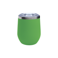 Matte Lime Vacuum Insulated Stemless Wine Tumbler Thumb