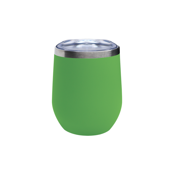Matte Lime Vacuum Insulated Stemless Wine Tumbler