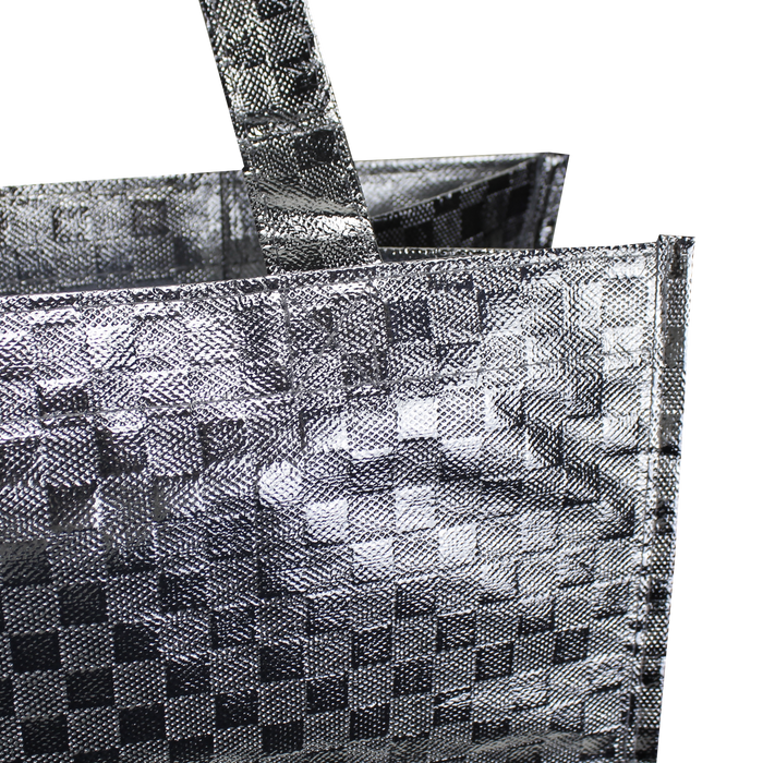 Metallic Designer Little Storm Grocery Bag