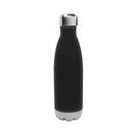 Matte Black Vacuum Insulated Thermal Bottle Thumb