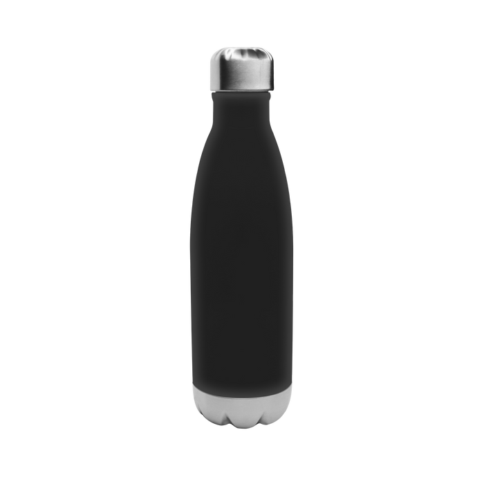 Matte Black Vacuum Insulated Thermal Bottle
