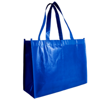 Royal Blue Laminated Convention Tote Thumb