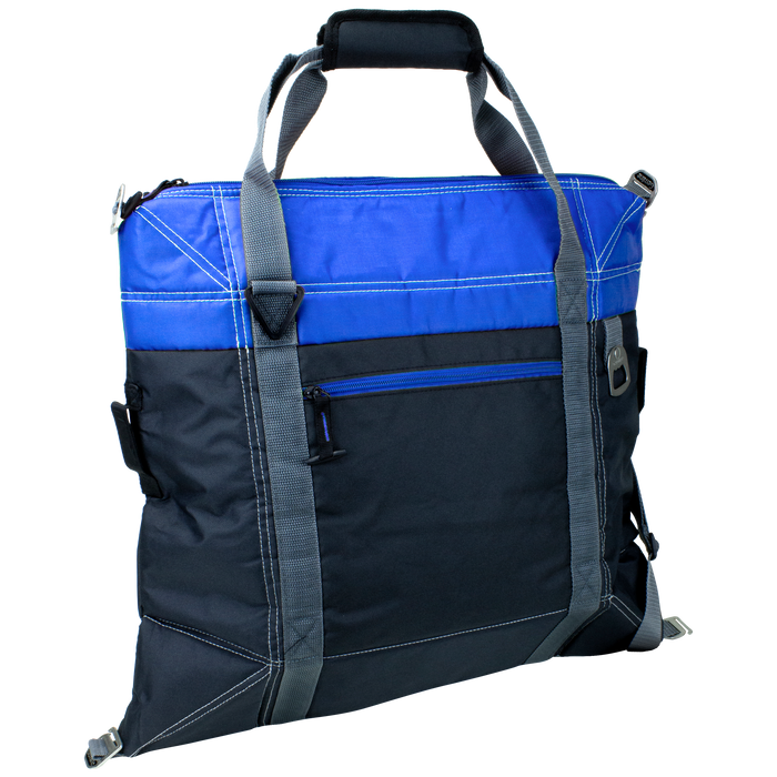 Blue Urban Expandable Soft Cooler Bag