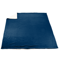 Navy Blue Denali Deluxe Throw Blanket Thumb