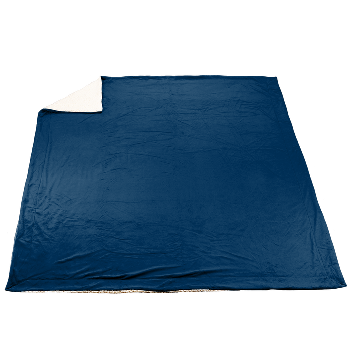 Navy Blue Denali Deluxe Throw Blanket