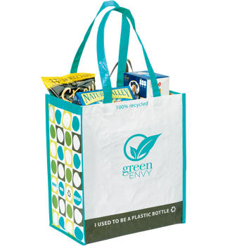 Green Recycled Tote