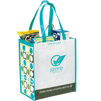 Green Recycled Tote Thumb