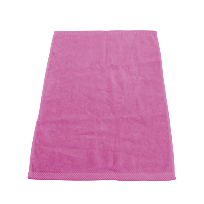 Fuchsia Heavyweight Colored Fitness Towel