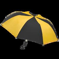 Black/Gold Classic Umbrella Thumb