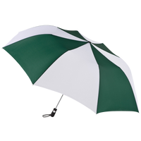 Hunter/White Stratus totes® Umbrella Thumb