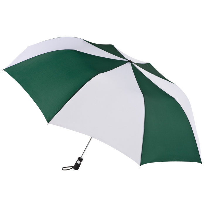 Hunter/White Stratus totes® Umbrella