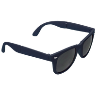 Navy Blue Reno Folding Sunglasses Thumb