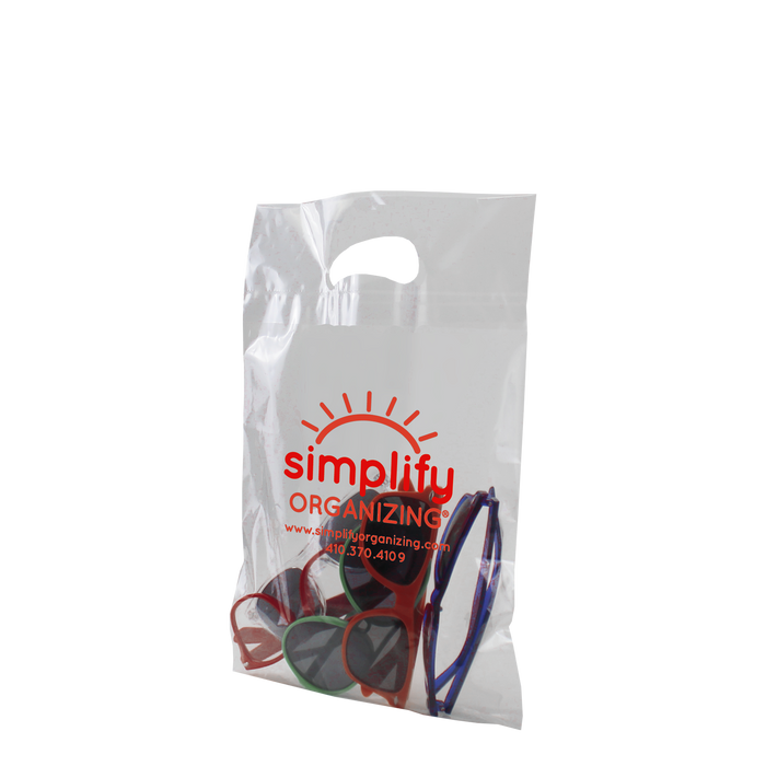 Small Die Cut Plastic Bag