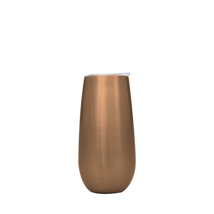 Copper Stainless Steel Champagne Flute