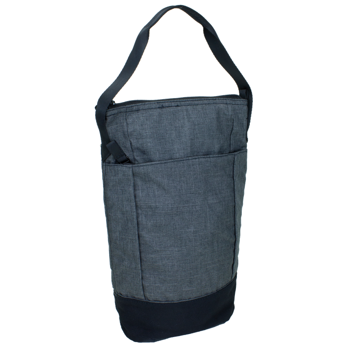 Charcoal Urban Insulated 2 Bottle Wine Bag
