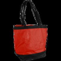 Red Clipper Beach Tote Bag Thumb