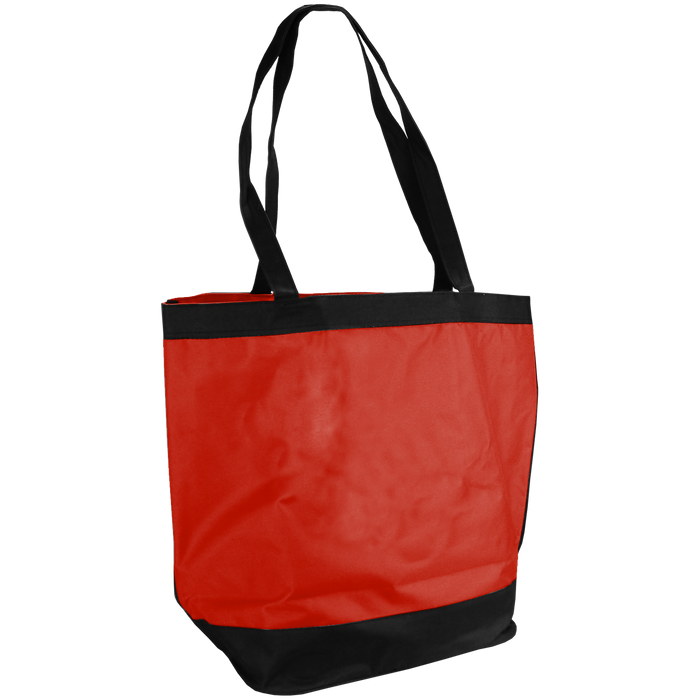 Red Clipper Beach Tote Bag