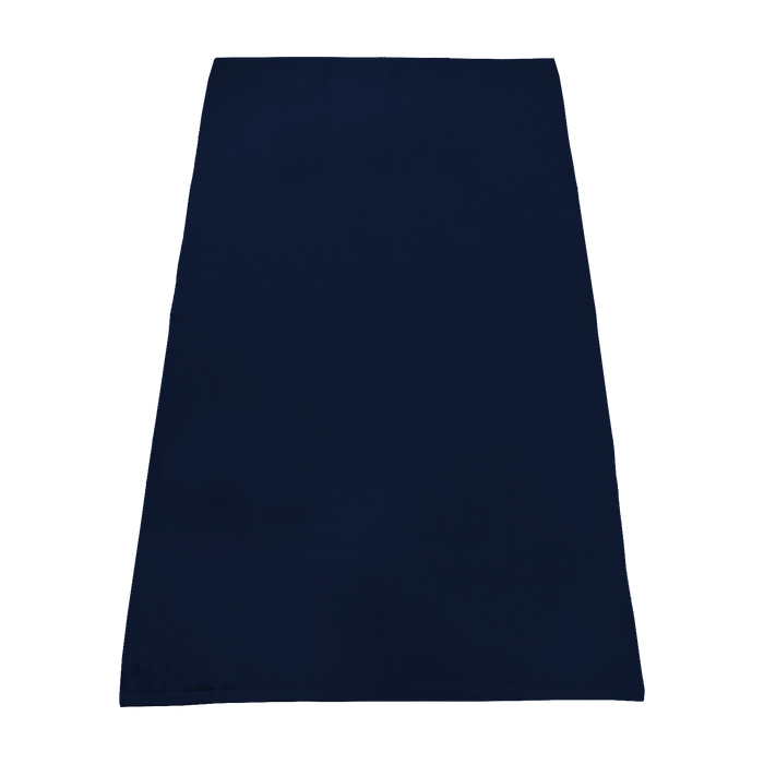 Navy Value Line Color Beach Towel