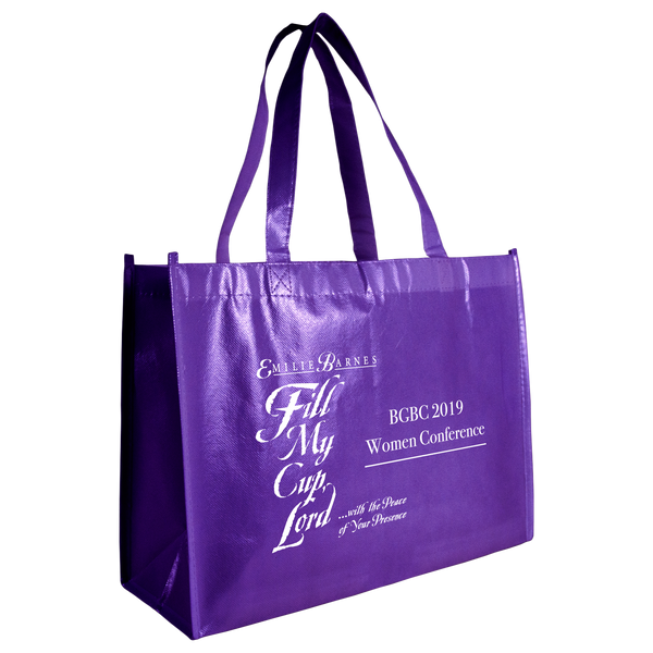 laminated bags,  tote bags,  breast cancer awareness bags,