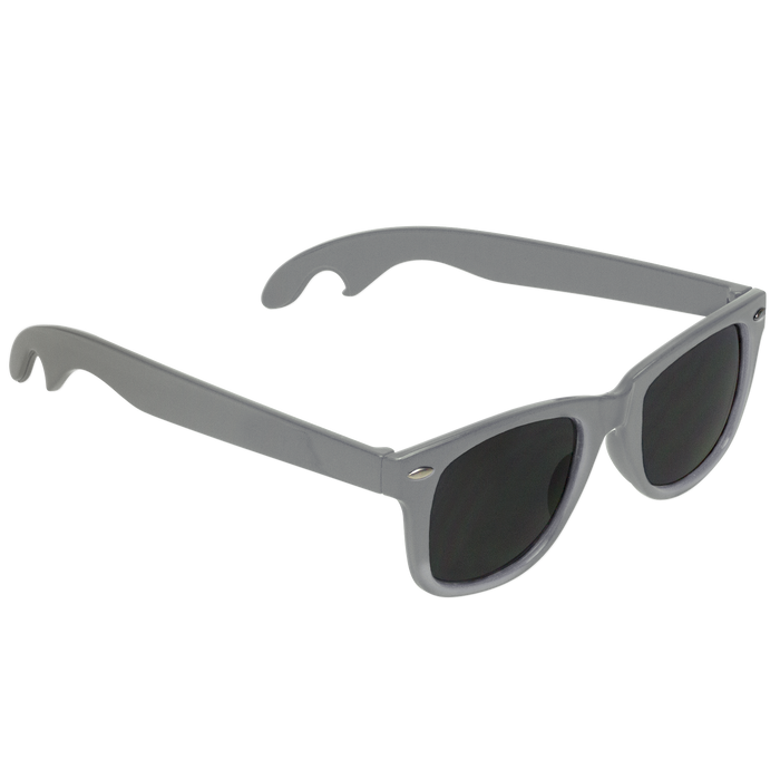 Silver Panama Bottle Opener Sunglasses