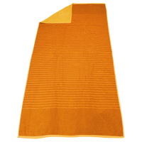 Orange Bayside Reversible Stripe Beach Towel Thumb