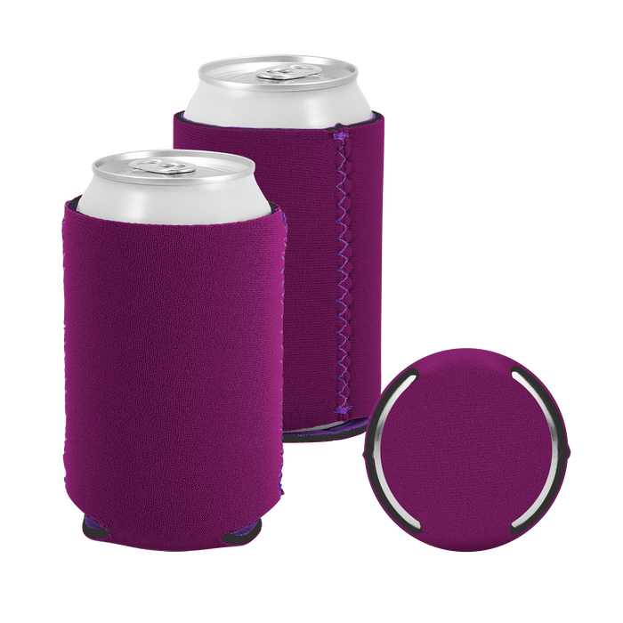 Violet Premium Collapsible Neoprene Koozie