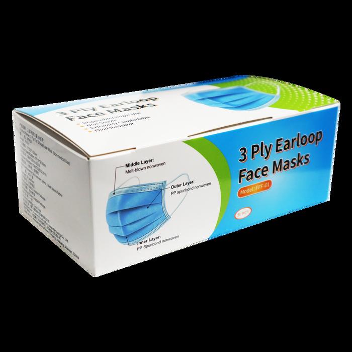 3 Ply Earloop Facemask