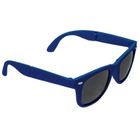 Royal Blue Reno Folding Sunglasses Thumb