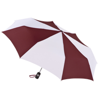 Burgundy/White Aquarius totes® Umbrella Thumb