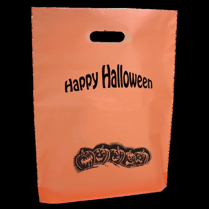 Orange Orange Frosted Trick-or-Treat Bag