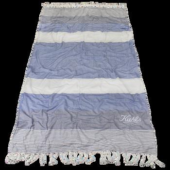 Santorini Fringe Beach Towel