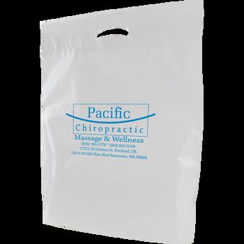 Eco-Friendly Medium Die Cut Plastic Bag