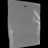 Gray Large Eco-Friendly Die Cut Plastic Bag Thumb