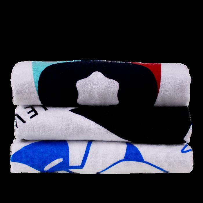 Classic White Beach Towel