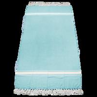 Turquoise Laguna Fringe Beach Towel Thumb