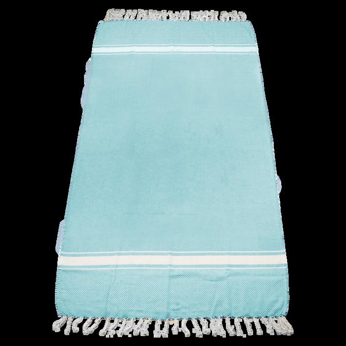 Turquoise Laguna Fringe Beach Towel