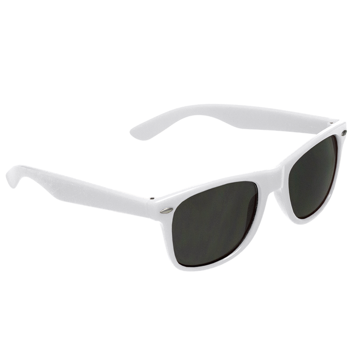 White Classic Color Sunglasses