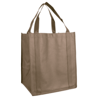 Light Khaki Wine & Dine Reusable Tote Bag Thumb