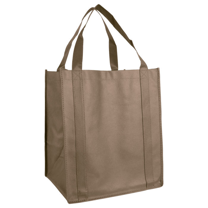 Light Khaki Wine & Dine Reusable Tote Bag