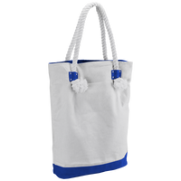 Royal Blue Catamaran Canvas Tote Thumb